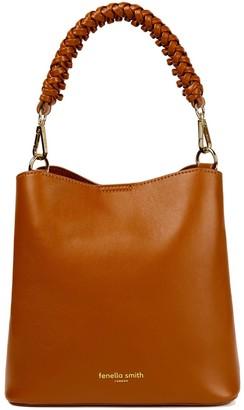 Fenella Smith Vegan Leather Mimi Bucket Bag - Tan