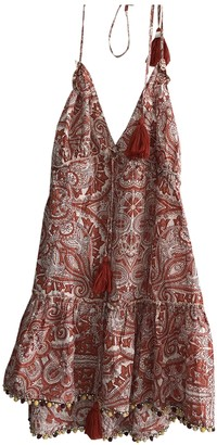 Tularosa Red Cotton Dress for Women