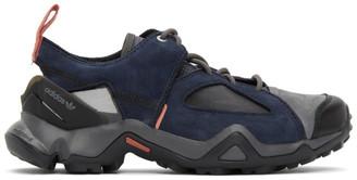 Oamc Navy adidas Originals Edition Type O-4 Sneakers