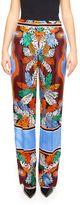 Emilio Pucci Silk Twill Trousers