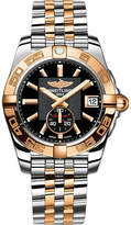 Breitling C3733012/BA54 Galactic 36 rose-gold and stainless steel chronograph watch