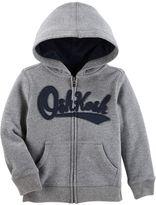 Osh Kosh Toddler Boy Logo Zip Hoodie