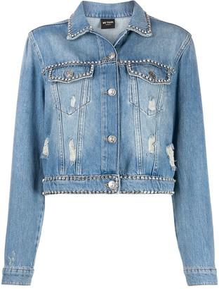 Twin-Set Embellished Denim Jacket