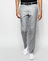 French Connection Wedding Suit Trousers In Slim Peak Check
