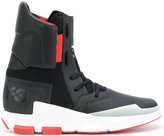 Y-3 sneaker boots - men - Leather/Polyamide/rubber - 6