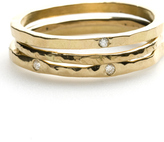 18K Gold Stackable Rings
