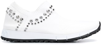 Jimmy Choo Verona stud-embellished sneakers