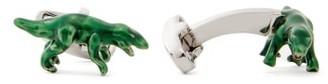 Paul Smith Dinosaur Cufflinks - Mens - Silver
