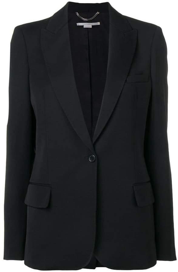 Alisa one-button blazer