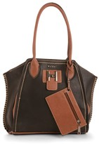 Maddi Marina two-toned tote