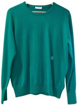 Sandro Fall Winter 2018 Green Cashmere Knitwear