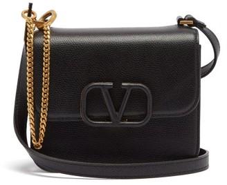 Valentino V-sling Small Leather Shoulder Bag - Black