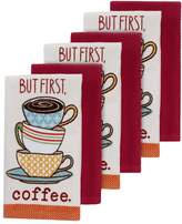 """The Big One®""""But First, Coffee"""" Kitchen Towels - 6-pk."""