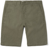 Nn07 - Crown Slim-fit Linen Shorts