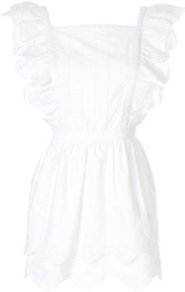 Sir. Delilah ruffle mini dress