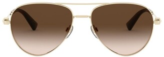 Valentino Aviator Sunglasses