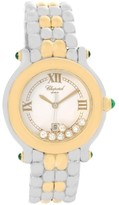 Chopard Happy Sport 27/8276-22 Stainless Steel Gold Floating Diamond 32.0mm Womens Watch