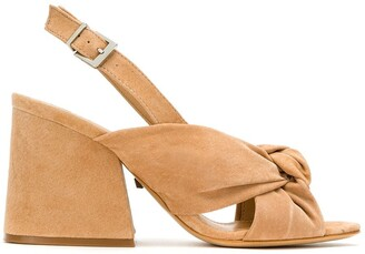 Schutz S2056200200001 HONEY BEIGE Leather/Fur/Exotic Skins->Leather