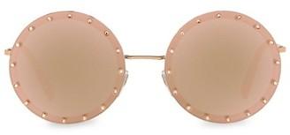 Valentino 58MM Round Sunglasses