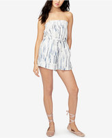 Rachel Roy Tie-Dyed Strapless Romper, Only at Macy's