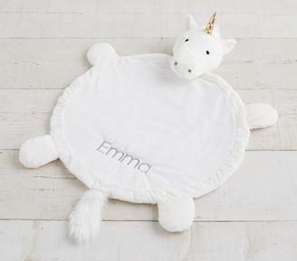 Pottery Barn Kids Unicorn Faux Fur Plush Play Mat