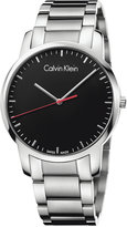 Calvin Klein city Men's Swiss Stainless Steel Bracelet Watch 43mm K2G2G141