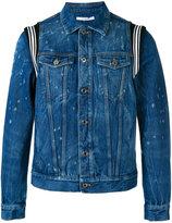 Givenchy distressed denim jacket - men - Cotton - M