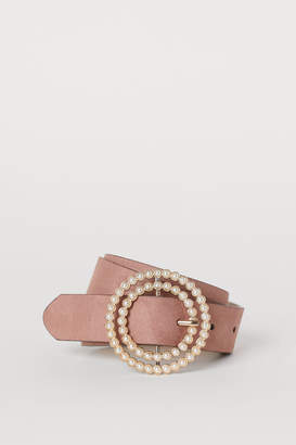 H&M Belt with a Beaded Buckle