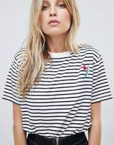 Whistles Tulip Embroidered T-Shirt