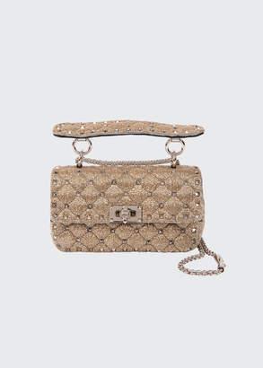 Valentino Garavani Spike It Studded Top-Handle Bag