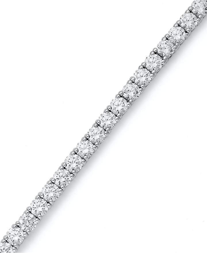 Arabella Sterling Silver Bracelet, Swarovski Zirconia Tennis Bracelet (20-1/4 ct. t.w.)