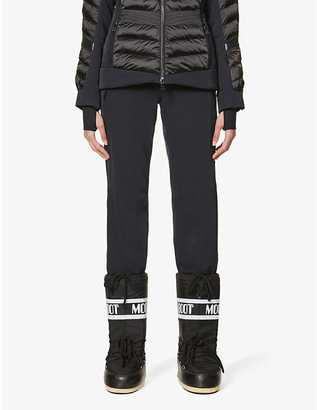 Toni Sailer Victoria flared high-rise sports-jersey ski trousers