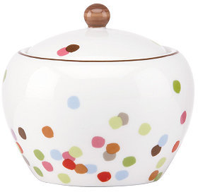 Kate Spade Market Street Green Sugar Bowl with Lid
