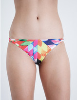 Mara Hoffman fractals print bikini bottoms