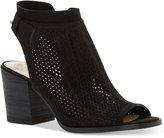 Vince Camuto Lidie Perforated Peep-Toe Sandals