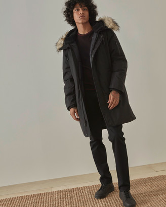 Vince Camuto Faux Fur-Trimmed Hooded Parka