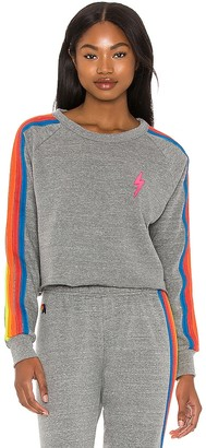 Aviator Nation Bolt Cropped Classic Sweatshirt