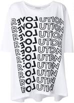 Each X Other Revolution print T-shirt