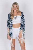 Raga Tropic Blues Kimono