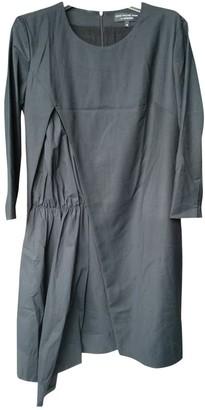 Anne Valerie Hash Black Cotton Dresses