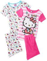 Hello Kitty Girls 7-16) 4-Piece Pajama Set