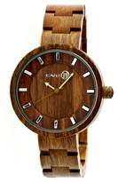 Earth Women's Root Watch with Luminous Hands-Olive