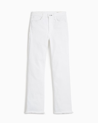 Rag & Bone Nina high-rise flare - optic white