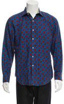 Robert Graham Plaid Button-Up Shirt