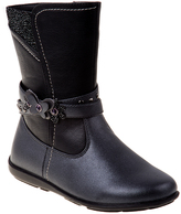 Laura Ashley Gray Butterfly Strap Boot