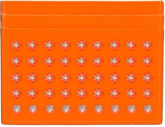 Christian Louboutin Orange Kios Card Holder