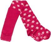 Jo-Jo JoJo Maman Bebe Patterned Tights (Toddler/Kid) - Raspberry Floral-2-3 Years
