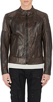 Belstaff Men's Leather Racer Jacket