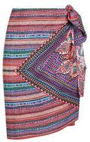 Gottex Bead Print Silk Pareo