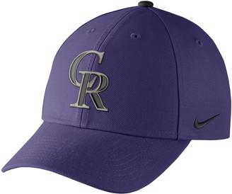 Nike Adult Colorado Rockies Wool Classic Dri-FIT Adjustable Cap